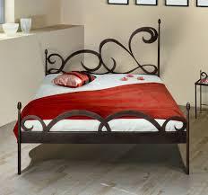 Schlafzimmer Mit Metallbett Metall Doppelbett Schon Der Metall Doppelbett Mit Lattenrost