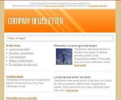 newsletter format word newsletter template 31 free printable