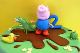 george pig cake peppa pig cakecentral com
