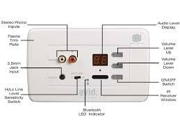 3 Way Ceiling Speakers by In Wall Bluetooth Amplifier U0026 6 U0027 U0027 Stereo Ceiling Speaker Clever