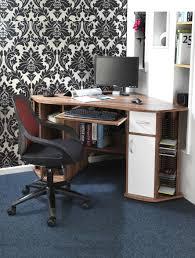walnut corner computer desk corner computer workstation aw12106 121 office furniture