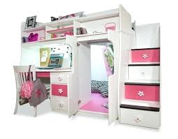 girls loft bed with a desk and vanity girls loft bed with desk girls white loft bed with desk girls loft