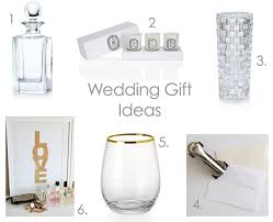wedding gift guide gifts