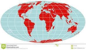 Northern Hemisphere Map Map Of Northern Hemisphere Polar Stereographic Royalty Free