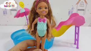 196 Best Barbie Dream House Barbie Club Chelsea Havuz Seti Youtube