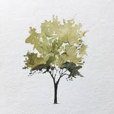 is paint any how to paint a tree laden your brush with paint and commit