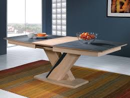 table de cuisine pied central table salle a manger pied central cuisine naturelle
