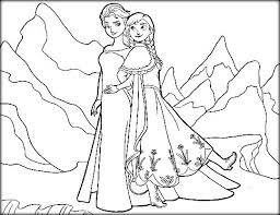 print frozen elsa anna coloring pages free 3562 printable