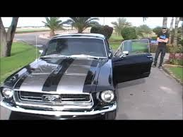 67 Mustang Black 1967 Ford Mustang Coupe Youtube