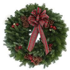 fresh wreaths worcester wreath 20 in balsam fir highland fresh wreath