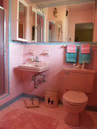 one more pink bathroom saved betty crafter 60s blue bathroom