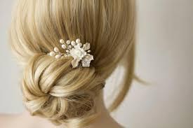 Bridal Hair b Wedding Decorative bs Silk Flower And Pearl