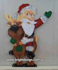 Outdoor Christmas Decorations Melbourne by Bright Design Section 02 Santa Outdoor Christmas Displays