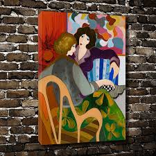 Home Decoration Painting by Online Get Cheap Conversation Art Aliexpress Com Alibaba Group