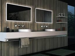 modern bathroom wall lighting cadet blue futuristic shower corner