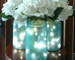 Mason Jar Ideas For Weddings Handmade Mason Jar Centerpieces Etsy