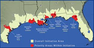 Map Of Gulf Coast Florida by Gulf Of Mexico Initiative Gomi 2014 Nrcs Alabama