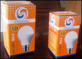 led bulb box custom design led bulb packaging box frugal