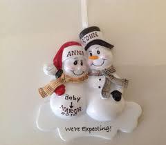 personalized ornament snowman