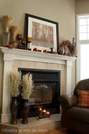 Fireplace Decor 170 Best Mantle Decorations Year Round Images On Pinterest Happy