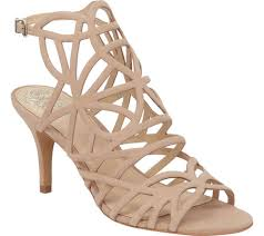 vince camuto womens vince camuto pelena cage sandal free shipping exchanges