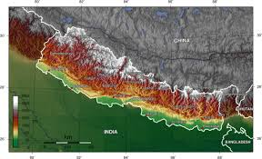 Map Of Nepal And Tibet by Geography Of Nepal Wikipedia
