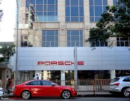 porsche showroom porsche center mumbai new location prabhadevi team bhp