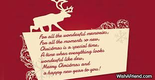 special card messages merry happy new year