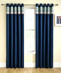 Navy Blue And White Curtains Navy Blue Drapes Medium Size Of Blue And White Curtains In