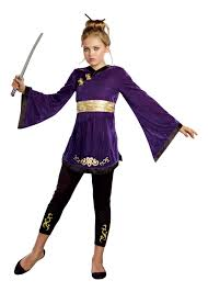 Halloween Costume Tween Girls Japanese Lotus Warrior Tween Girls Costume International Costumes
