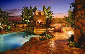 pool backyard landscaping with small swimming pool come with