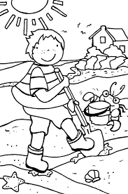 The 25 Best Beach Coloring Pages Ideas On Pinterest Summer I Coloring Sheets