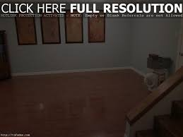 Bamboo Flooring In Basement by Bamboo Hardwood Flooring Over Concrete Nail Batten Boards As