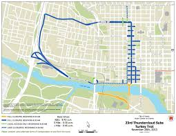 Map Of Austin Thanksgiving 2013 Turkey Trot Road Detours City Of Austin