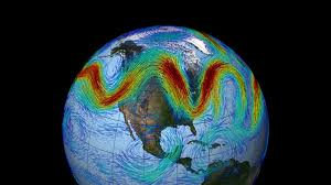 global atmospheric circulation and related effects