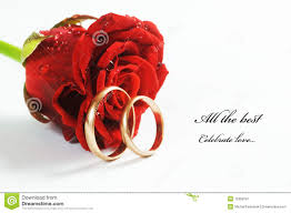 red rose rings images Red rose and wedding ring stock image image of green 12358701 jpg