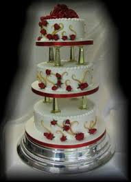 3 Tier Wedding Cake Cakes By Mary Long Barn Bakery Prices
