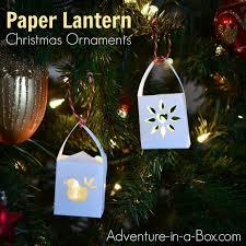paper lantern ornaments adventure in a box
