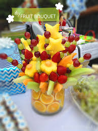 fruit arrangements los angeles how to make a 100 fruit bouquet 20 sprinkles edible