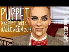 easy diy halloween costumes creepy doll makeup tutorial youtube ventriloquist dummy makeup makeup costumes and halloween ideas