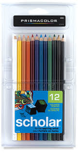 prismacolor pencils prismacolor scholar pencils blick materials