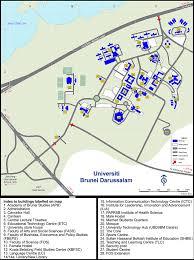 Brunei Map Ubd Campus Map