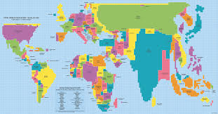 clear world map with country names 40 maps they didn t teach you in school bored panda