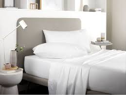 new 500 thread count tencel white cotton fitted sheets