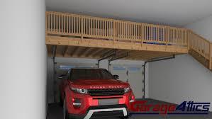 garage storage ideas custom overhead storage lofts u0026 wall shelving