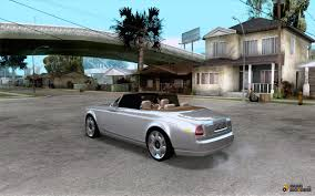 roll royce phantom custom rolls royce phantom drophead coupe for gta san andreas