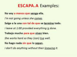 spanish adverbial clause
