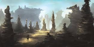 abandoned desert mine landscape by scottpellico on deviantart