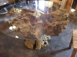 teak root dining table base root teak dining table teak garden furniture and tables