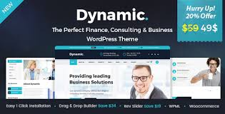 dynamic finance and consulting business wordpress theme by